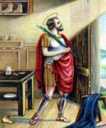 sveta Krišpin in Krišpinijan - mučenca